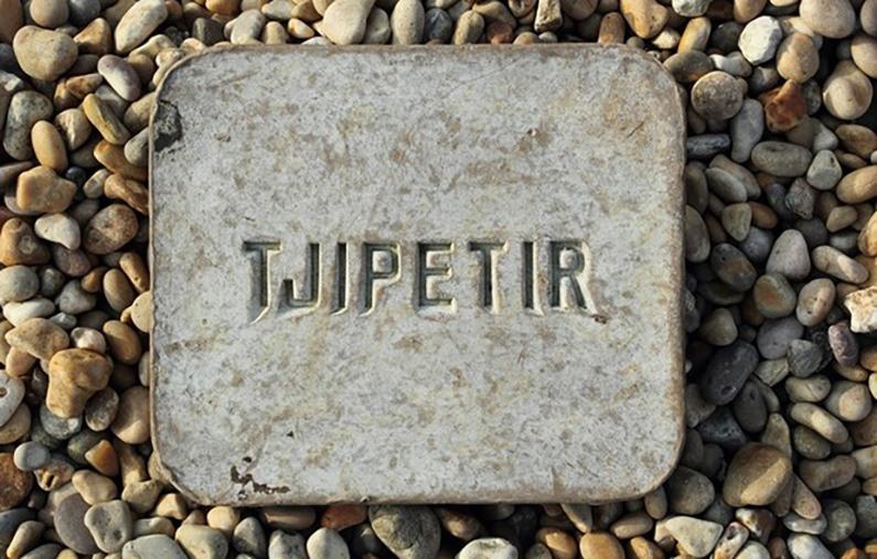 Tjipetir Platte für Ausstellung gesucht